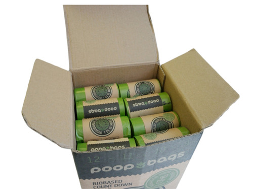 Wholesale- The Original Poop Bags® SuperBox with Countdown Rolls® Counter Top Display
