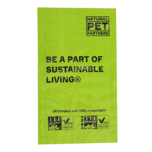 Natural Pet Partners  200 Ct Bulk Roll Compostable Waste Bags
