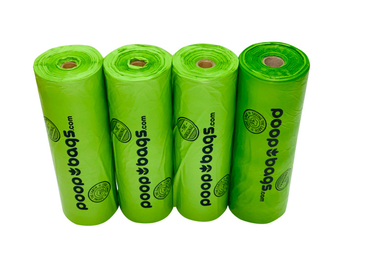 The Original Poop Bags® used recycled cardboard cores in our bulk rolls of poop bags.