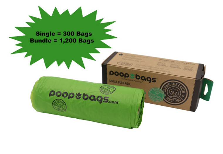 Our Single Roll of poop bags uses the same Pet Business Magazine award winning technology as our other Recycled Suite products earning multiple several ASTM national certifications.
