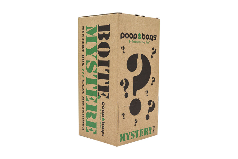 The Original Poop Bags® introduces its Mystery Box, making ordering cheap poop bags even more exciting!