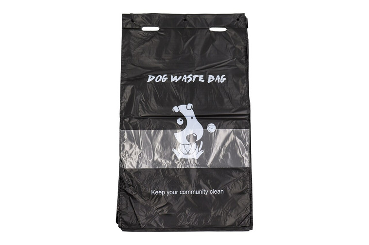 Natural Pet Partners® Jumbo Flat Header Pull-Strap Waste Bags