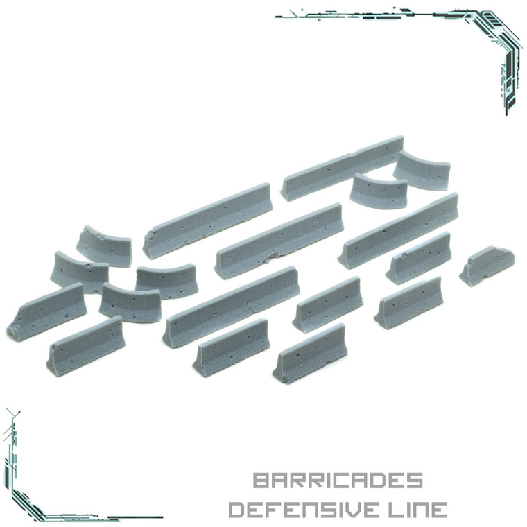 Barricades Defensive Line