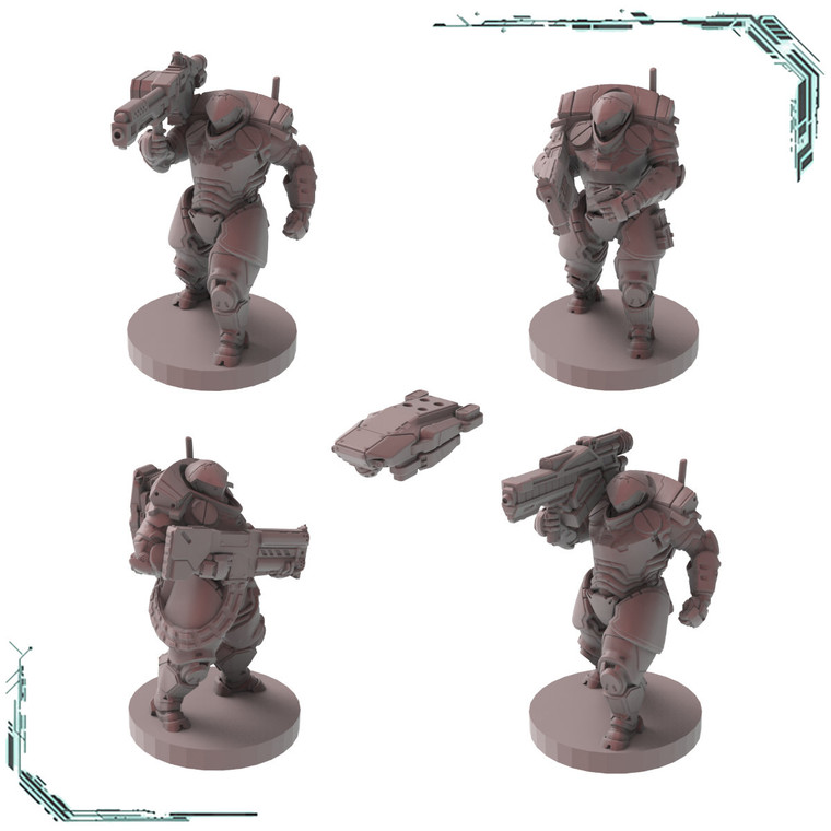 Talos Exo Suits - Heavy Weapons