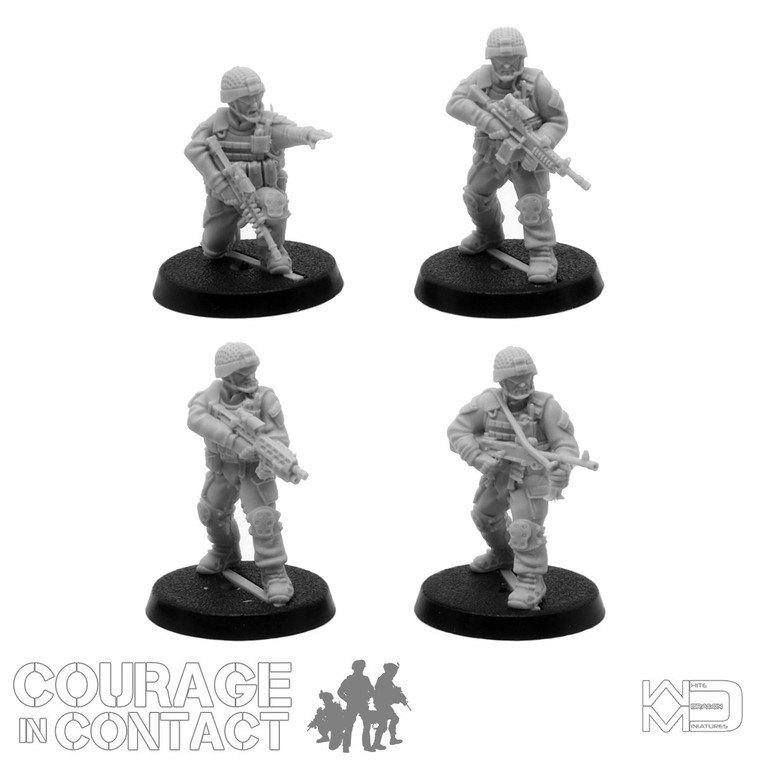 British Army -  Vehicle Dismounts Pack 1