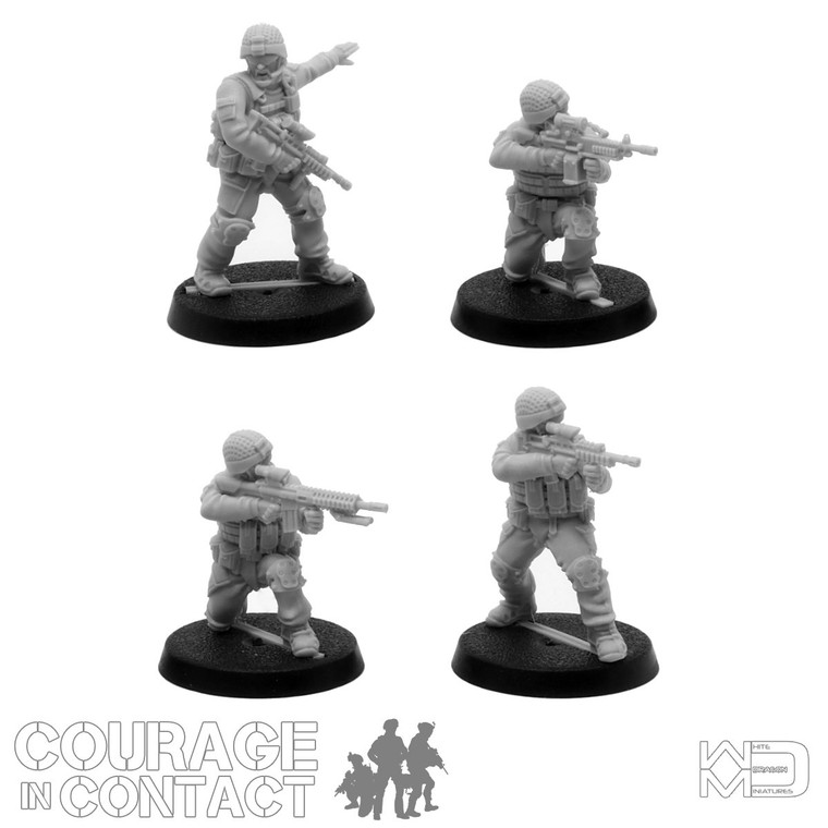 British Army -  Vehicle Dismounts Pack 2