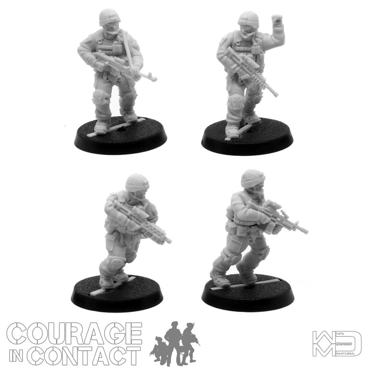 British Army -  Vehicle Dismounts Pack 3