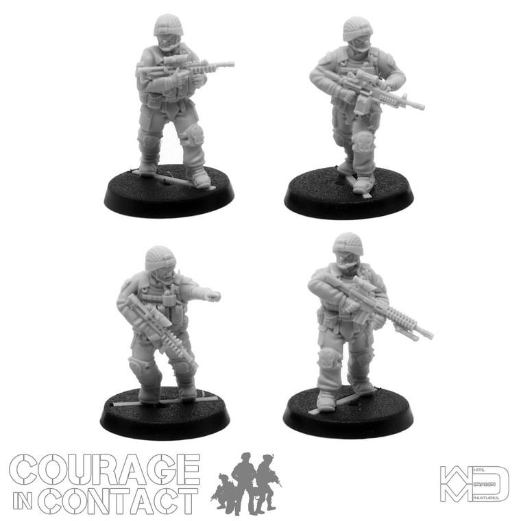 British Army -  Vehicle Dismounts Pack 4