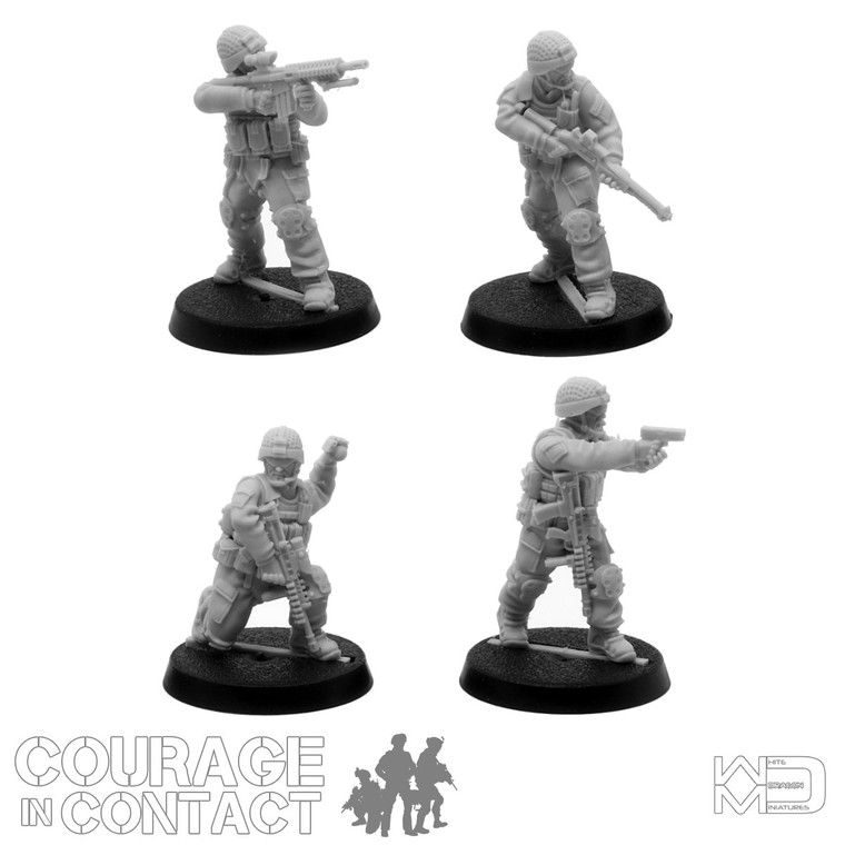 British Army -  Vehicle Dismounts Pack 5