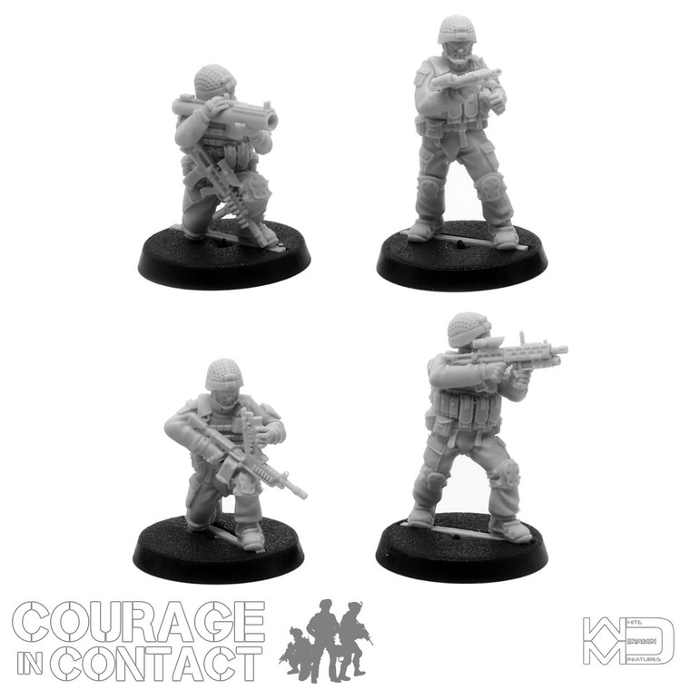 British Army -  Vehicle Dismounts Pack 6