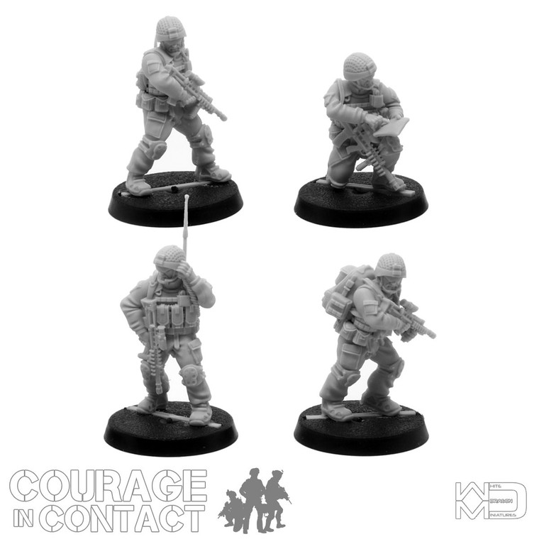 British Army -  Vehicle Dismounts Pack 7