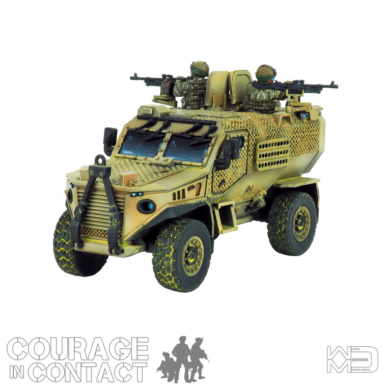 British Army -  Foxhound