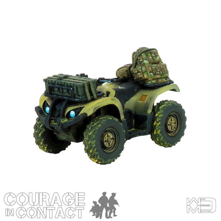 British Army -  Quadbike