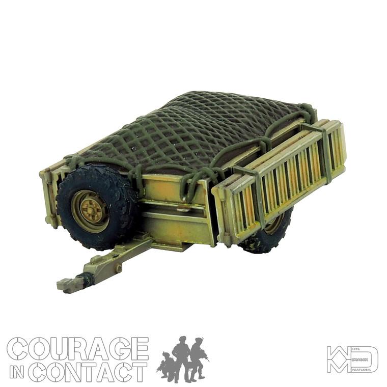 British Army -  Quadbike Trailer Netted