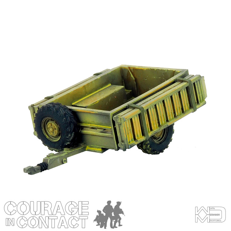 British Army -  Quadbike Trailer Empty