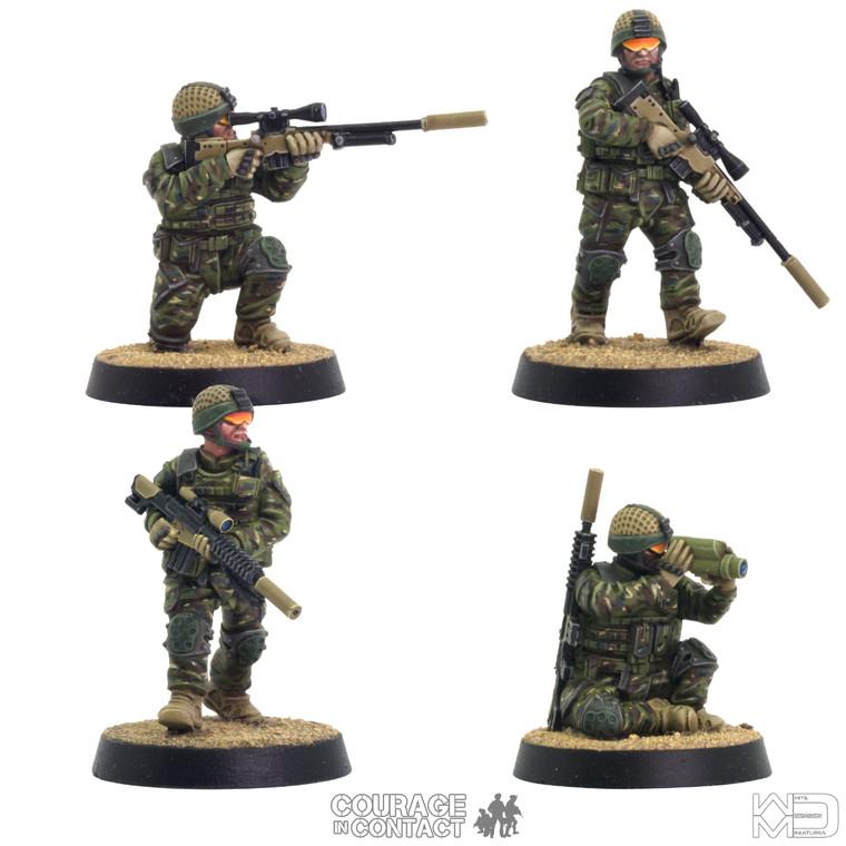 British Army -  Sniper Team