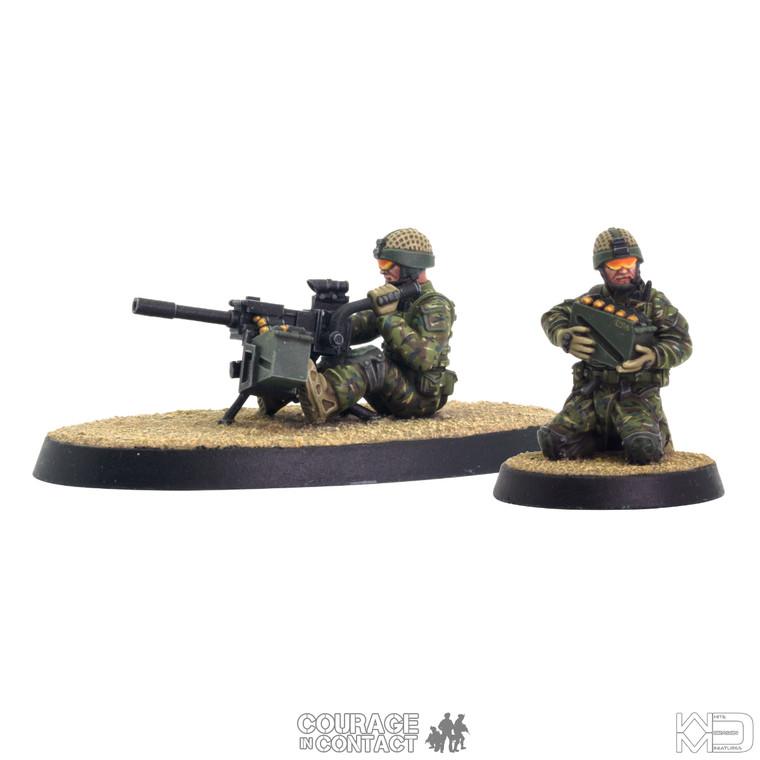 British Army -  Grenade Machine Gun Team