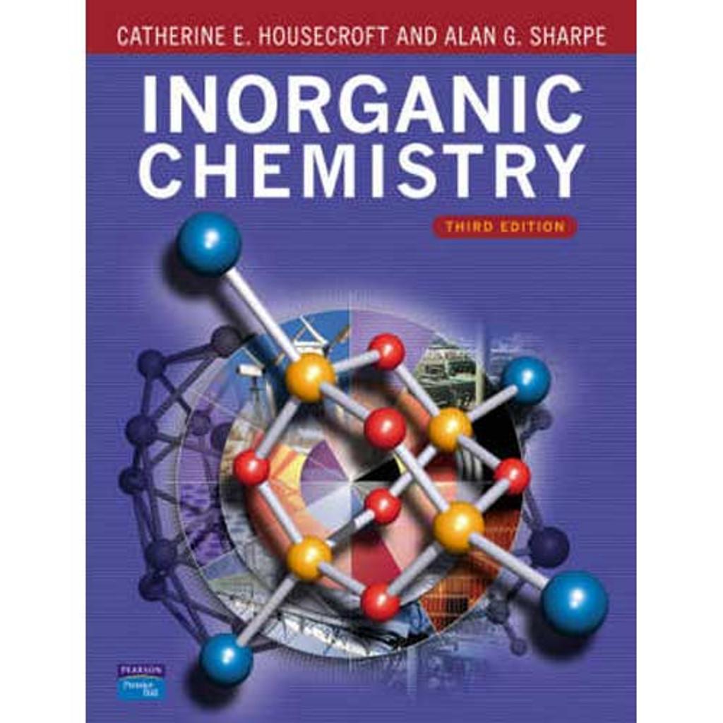 housecroft sharpe inorganic chemistry