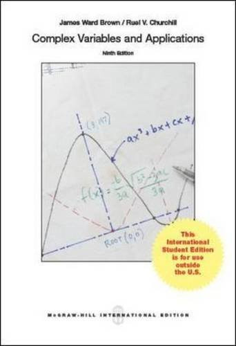 Complex Variables and Applications (9th Edition) Brown