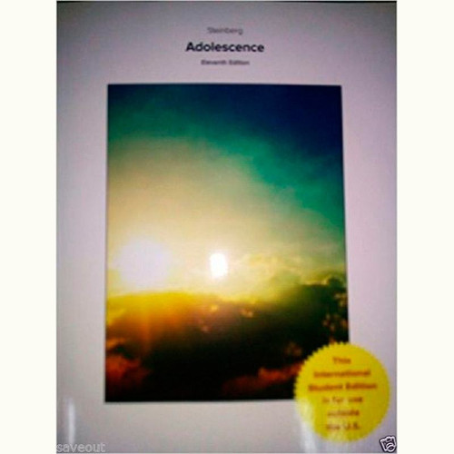 9781259254895 | Adolescence (11th Edition) Laurence Steinberg
