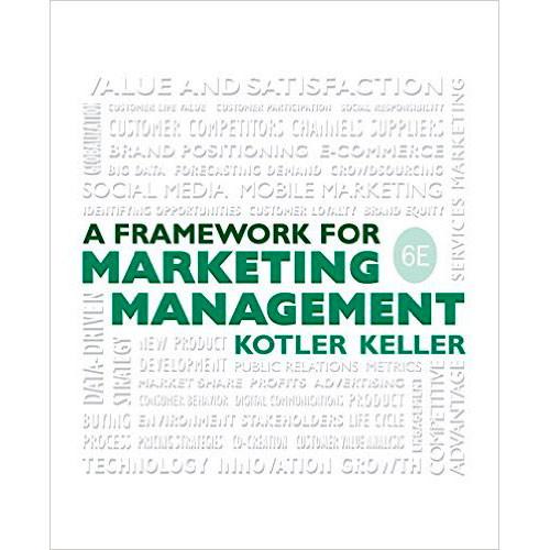 Framework for Marketing Management (6th Edition) Kotler