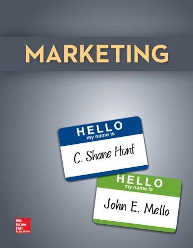 Marketing (1st Edition) Hunt