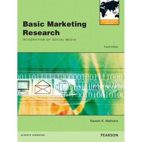 Basic Marketing Research (4th Edition) Malhotra