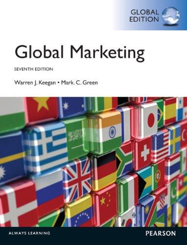 Global Marketing (7th Edition) Keegan IE