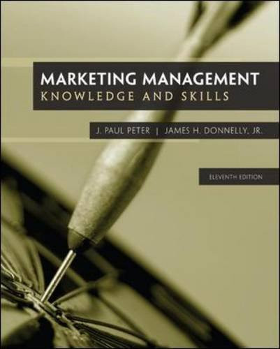 Marketing Management (11th Edition) Peter