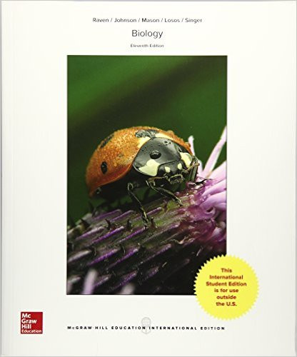 Biology (11th Edition) Peter Raven and George Johnson | 9781259188138