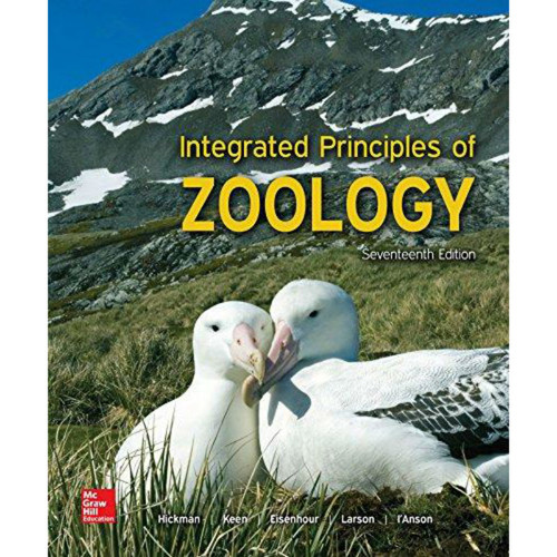 Integrated Principles of Zoology (17th Edition) Cleveland P Hickman Jr. Emeritus and Susan L. Keen  | 9781259562310