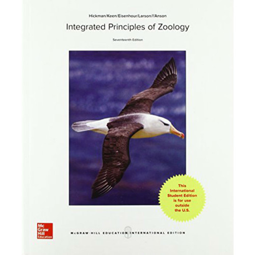 Integrated Principles of Zoology (17th Edition) Cleveland P Hickman Jr. Emeritus and Susan L. Keen  | 9781259253492