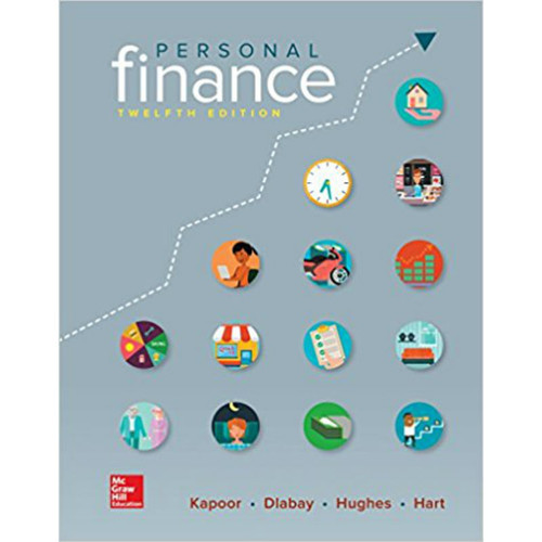 Personal Finance (12th Edition) Kapoor | 9781259720680