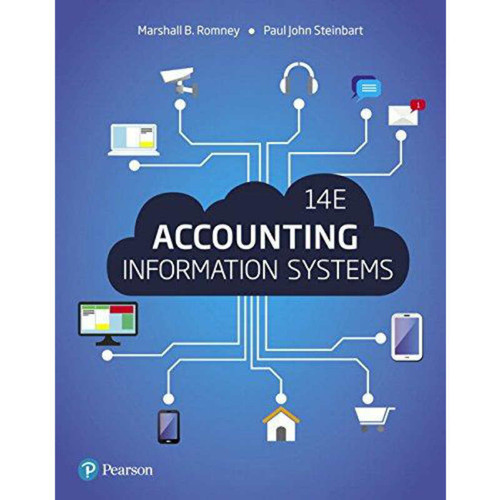 Accounting Information Systems (14th Edition) Romney | 9780134474021