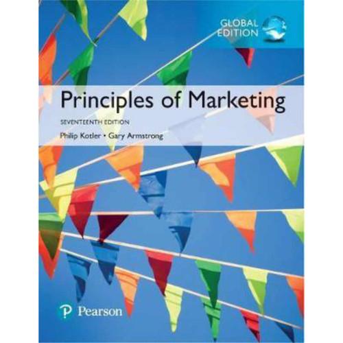 Principles of Marketing (17th Edition) Kotler | 9781292220178