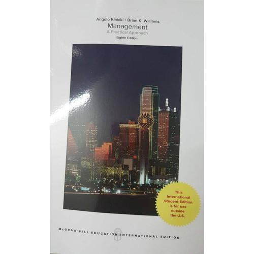 Management (8th Edition) Kinicki | 9781260083446