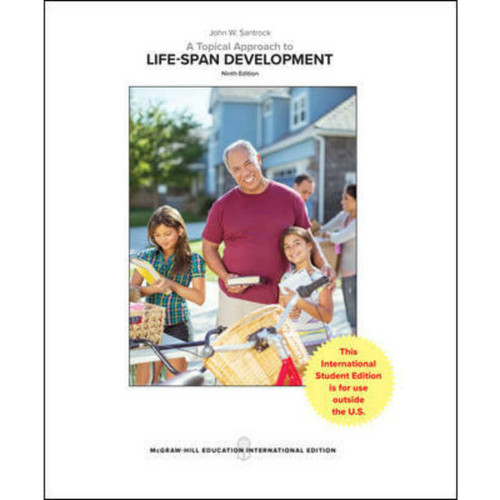 A Topical Approach to Lifespan Development (9th Edition) Santrock | 9781260084252