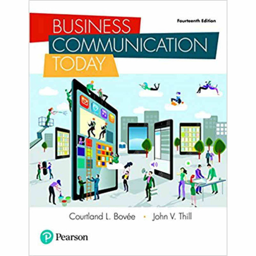 Business Communication Today (14th Edition) Bovee | 9780134562186