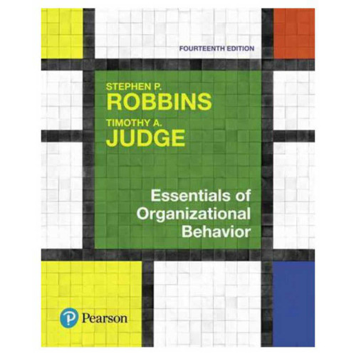 Essentials of Organizational Behavior (14th Edition) Robbins | 9780134523859