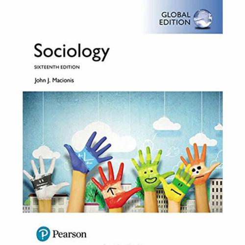 Sociology (16th Edition) Macionis | 9781292161471