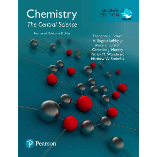 Chemistry: The Central Science (14th Edition) Brown | 9781292221229