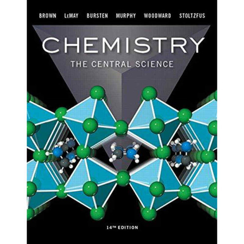 Chemistry: The Central Science (14th Edition) Brown | 9780134414232