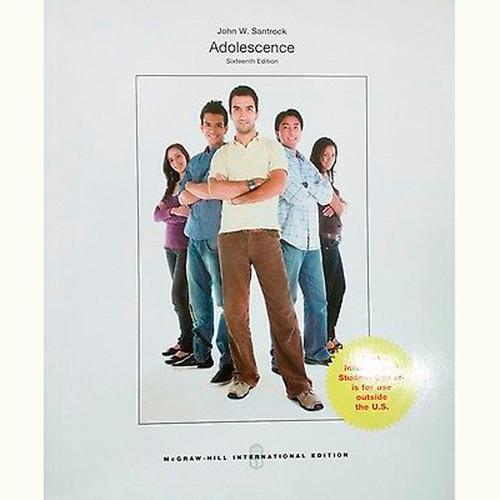 Adolescence (16th Edition) John Santrock IE