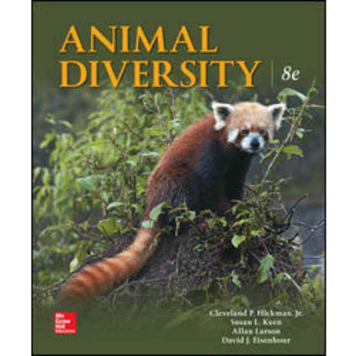 Animal Diversity (8th Edition) Larry S. Roberts and Susan L. Keen | 9781259756887