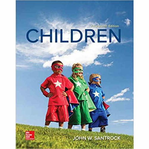 Children (14th Edition) John W Santrock | 9781260073935