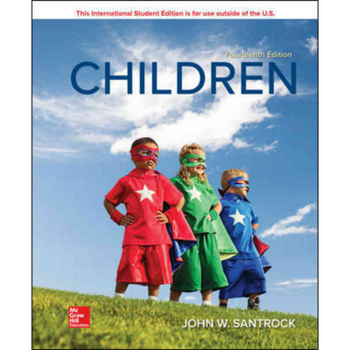 Children (14th Edition) John W Santrock | 9781260098327