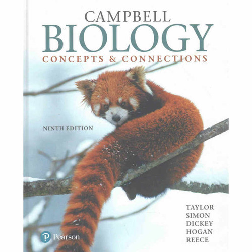 Campbell Biology: Concepts & Connections (9th Edition) Martha R. Taylor and Eric J. Simon | 9780134296012