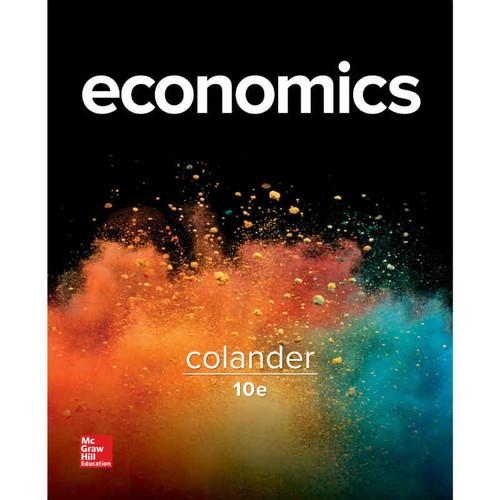 Economics (10th Edition) David C Colander | 9781259193156