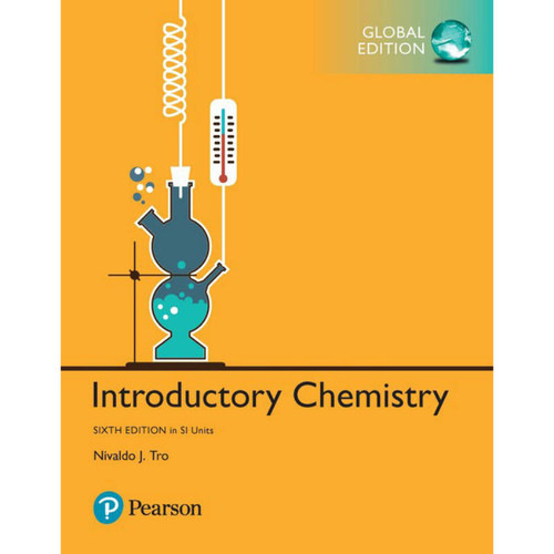 Introductory Chemistry (6th Edition) Nivaldo J. Tro | 9781292229683