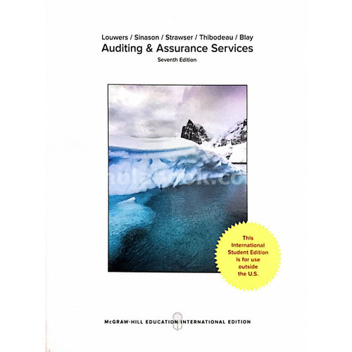 Auditing & Assurance Services (7th Edition) Timothy J Louwers and Allen Blay | 9781259254154